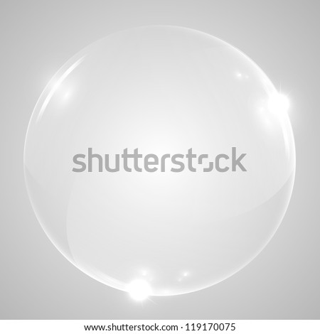 Vector shiny sphere - stock vector