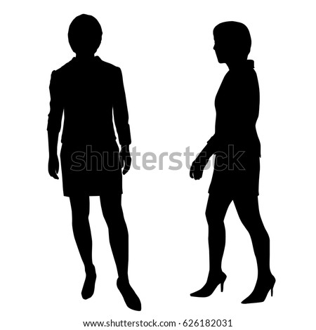 Silhouette Woman Standing Stock Images, Royalty-Free ...