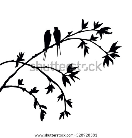 Songbird Silhouette Stock Photos, Royalty-Free Images ...