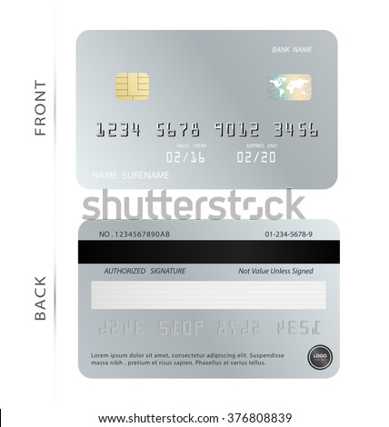 plastic card template stock photos royalty free images vectors shutterstock. Black Bedroom Furniture Sets. Home Design Ideas