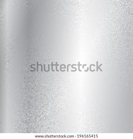 Vector silver metal texture - stock vector