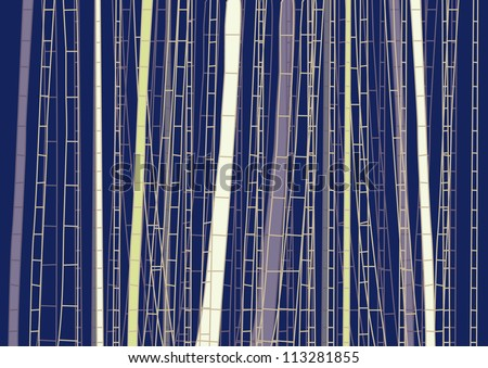 Vector Simple Lines and Stripes Background - stock vector
