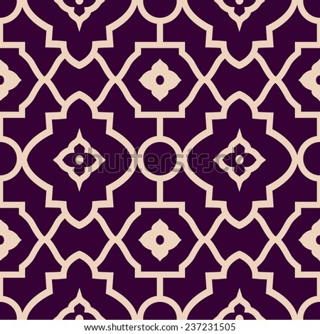 vector simple pattern. light mesh pattern on burgundy background - stock vector