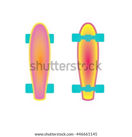 vector skateboard trucks