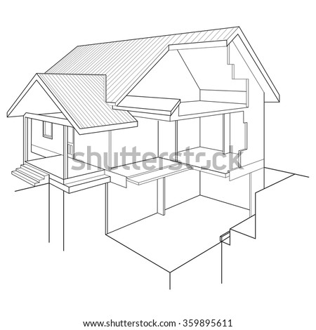 House+cross+section