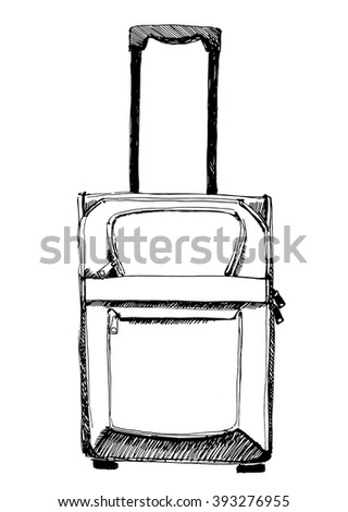 Vector sketch valise