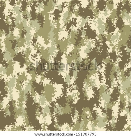 vector soldier summer camouflage background pattern - stock vector