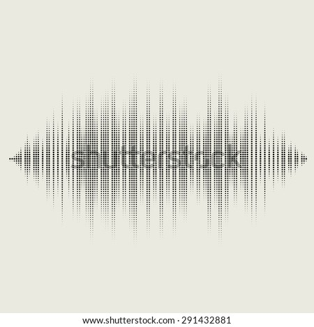 Vector sound waves set. Audio equalizer technology, pulse musical. Vector illustration of music pattern and texture - stock vector