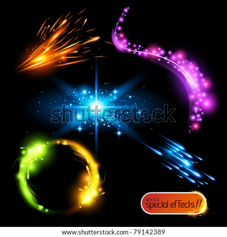 Vector Special Effects 2 - stock vector