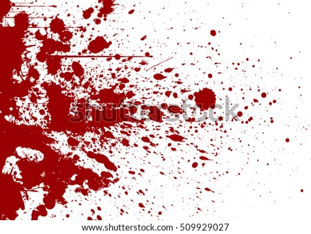 vector splatter background red color illustration stock vector