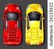 Vector sports car. - stock vector