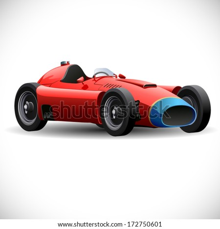 vector sports car - stock vector