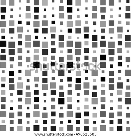 Vector square pattern background