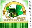 Vector st. Patrick's Day background - stock vector