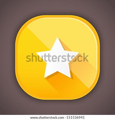 Vector Star Icon - stock vector