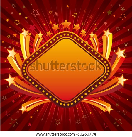 vector stars,abstract design element