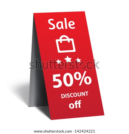 Vector sticker - stock vector