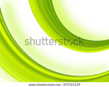 Vector striped line. EPS10 with transparency. Abstract composition with curve lines. Striped lines for relax theme background. Background with copy space. Place for text. Border lines - stock vector
