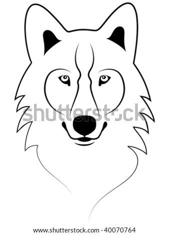 Pictures Of Easy Wolf Face Drawing Catfactsblog