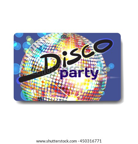 Vector summer party flyer disco style. Night beach, dj with sound system, template posters, invitation.