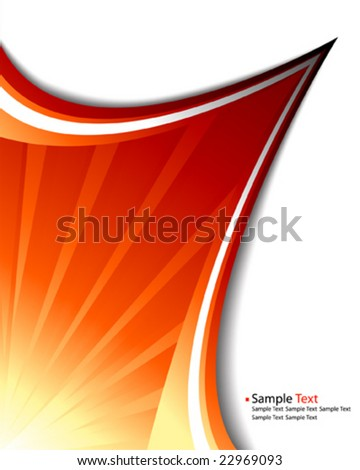 Vector Sun Rays Template Stock Photo (Photo, Vector, Illustration ...