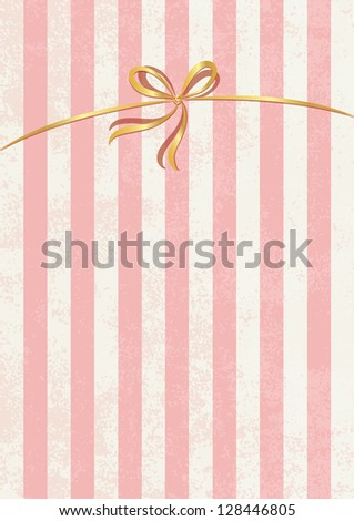 Vector sweet stripped background. White and pink. Cute wallpaper. Candy shop theme. - stock vector