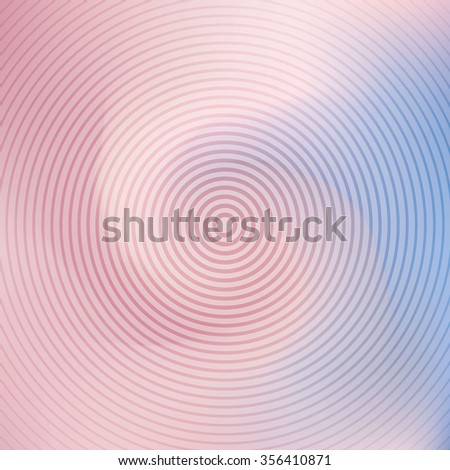 Vector swirl spiral background template card rose quarz serenity - stock vector