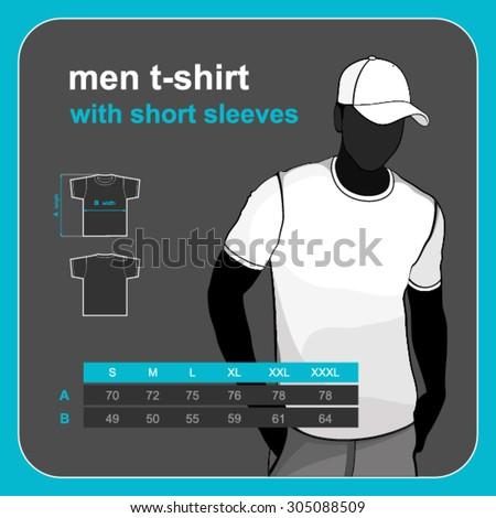 Vector t-shirt templates  - stock vector