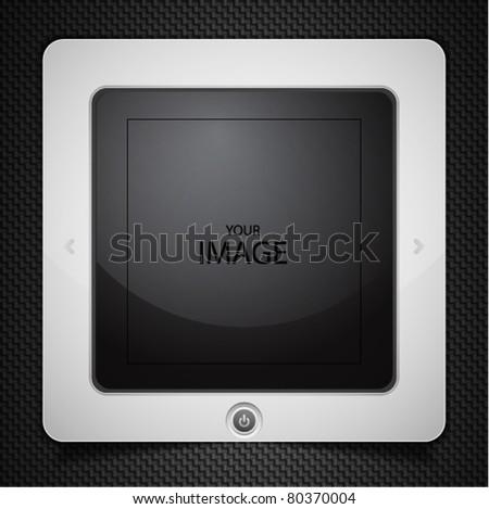 Vector tablet - stock vector