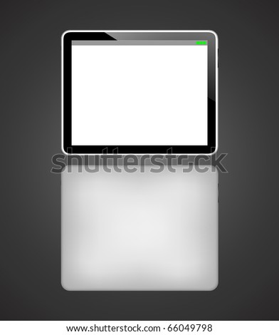 Vector tablet pc/ Eps 10 - stock vector