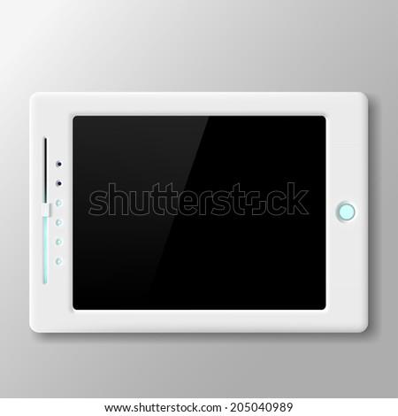 Vector Tablet Screen - stock vector