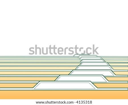 Vector Tabs - stock vector