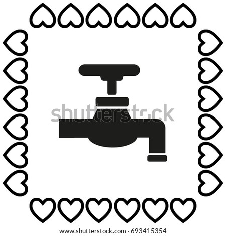 Vector Tap Symbol Stock Vector 693415354 Shutterstock