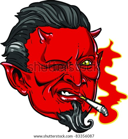 Vector Tattoo Devil