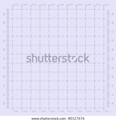 vector techno paper background for engineering - stock vector