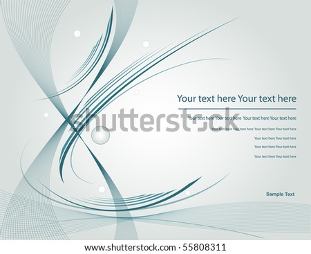 vector template - stock vector