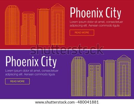 phoenix arizona city stock photos royalty free images vectors shutterstock. Black Bedroom Furniture Sets. Home Design Ideas