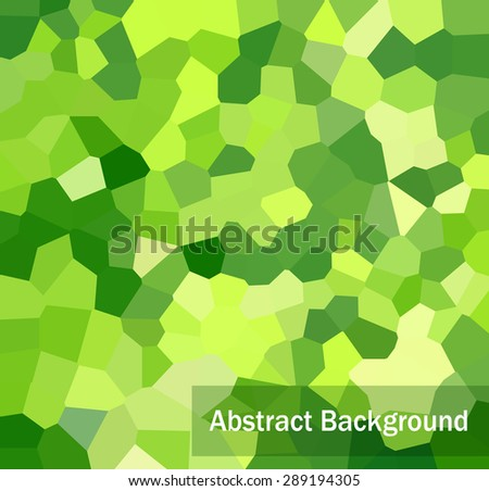 Vector template flyer form with colorful abstract geometric patterns art style details  - stock vector