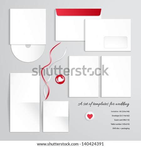 Nezabudkina 39 s white objects set on shutterstock for Table number design template