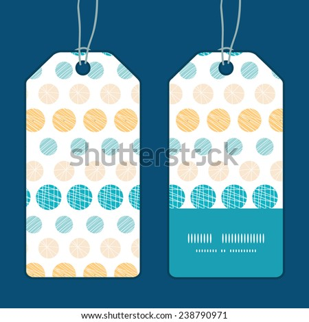 Vector texture circles stripes abstract vertical stripe frame pattern tags set - stock vector