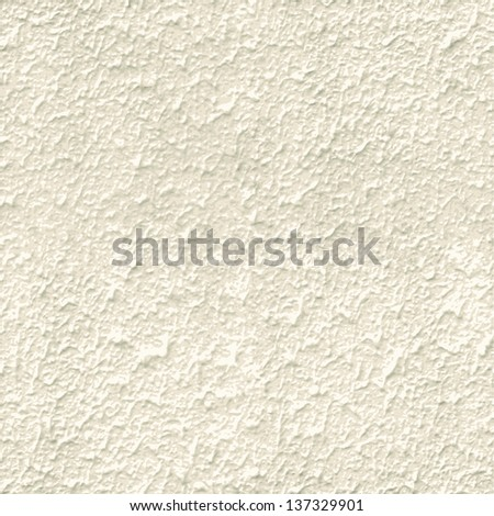 Vector texture of a wall plaster. Seamless - stock vector