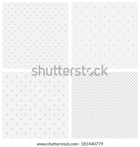Vector texture of blurred gray dots without mesh and without gradient - stock vector