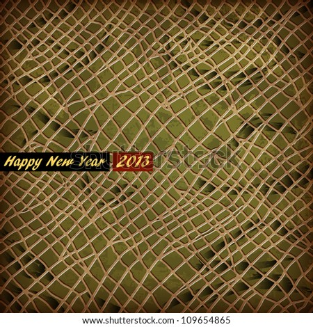 Vector texture of skin Snake - symbol 2013 New Year - stock vector