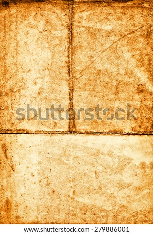 vector texture of the old rough paper  - stock vector