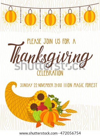 free thanksgiving invitation templates