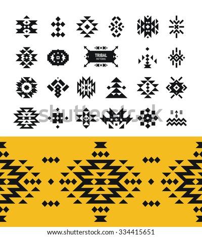 Aztec Border | Car Interior Design