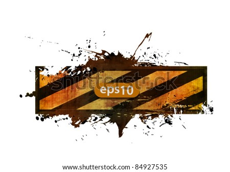 vector under construction for internet web banner, - stock vector