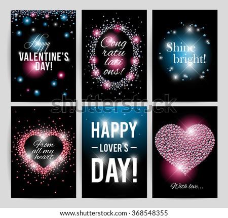 Vector Valentines Day Card Design Love Vector 369829955 – Birthday on Valentine Day Card