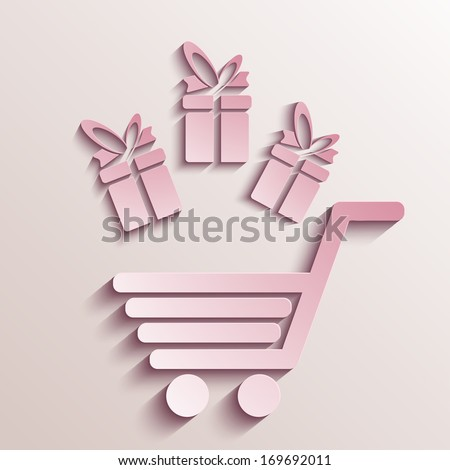 Vector valentines day background. Eps10 - stock vector