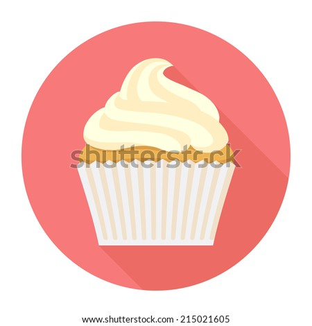 Cake With Icing Vector : Cupcake Stock Photos, Images, & Pictures Shutterstock